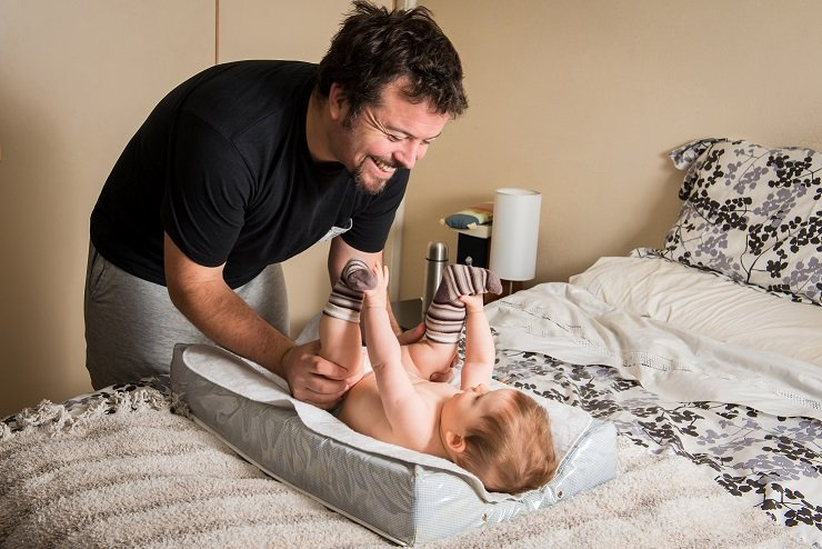 een band opbouwen met je baby
