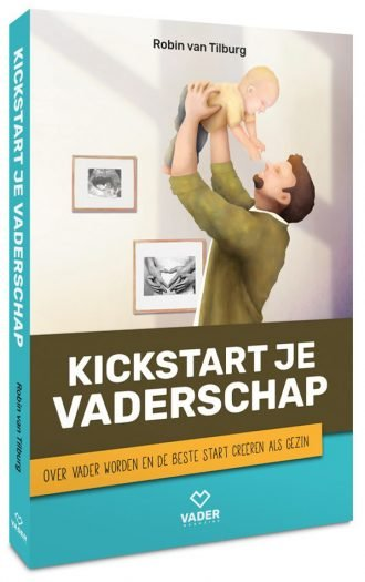 Kickstart je Vaderschap boek van Robin_van_tilburg