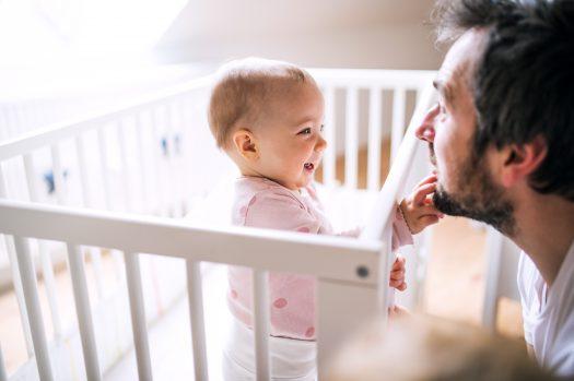 Communiceren met je baby - interactie vader en kind