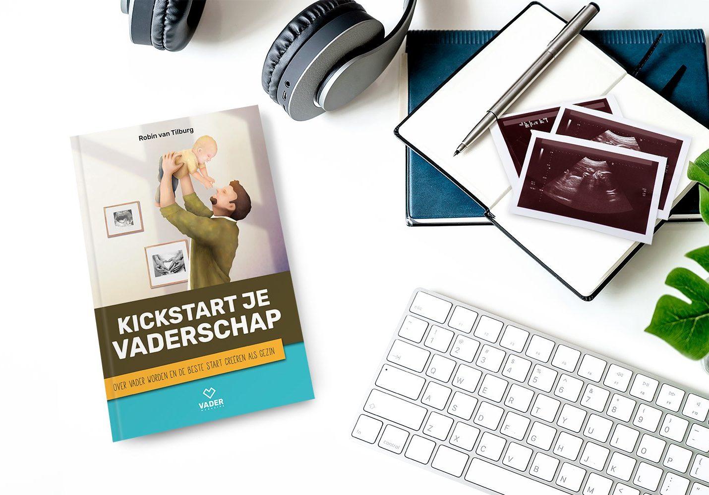 boek voor aanstaande vaders - Kickstart je Vaderschap